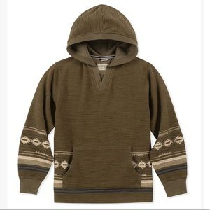 Lucky Brand Baja Hoodie Size 4T